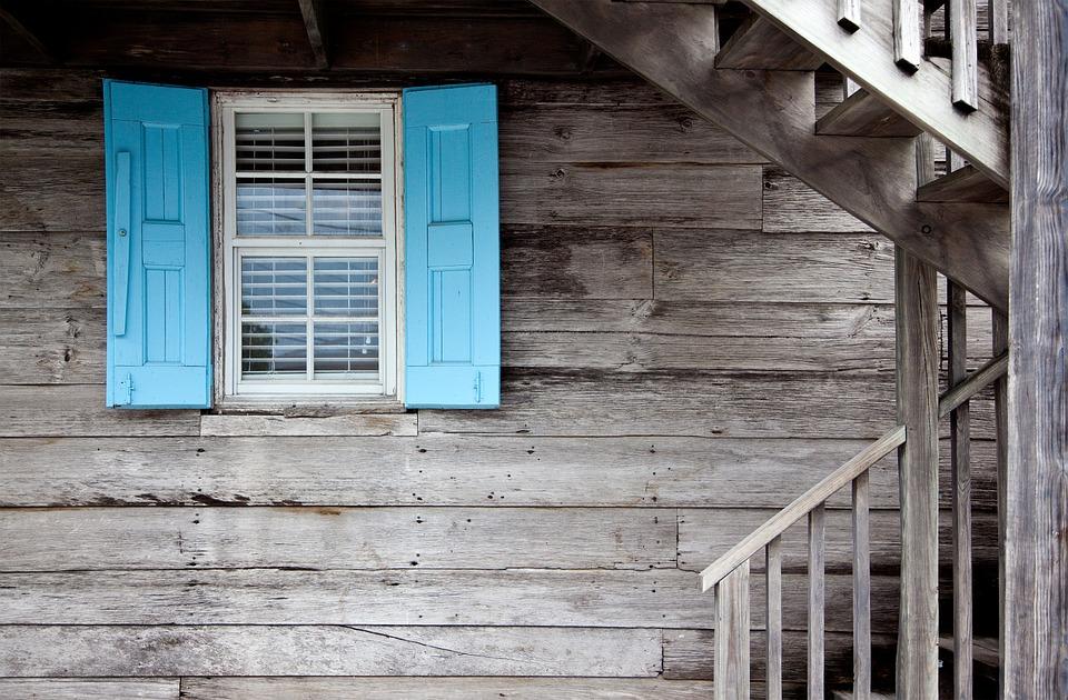 chata, okno