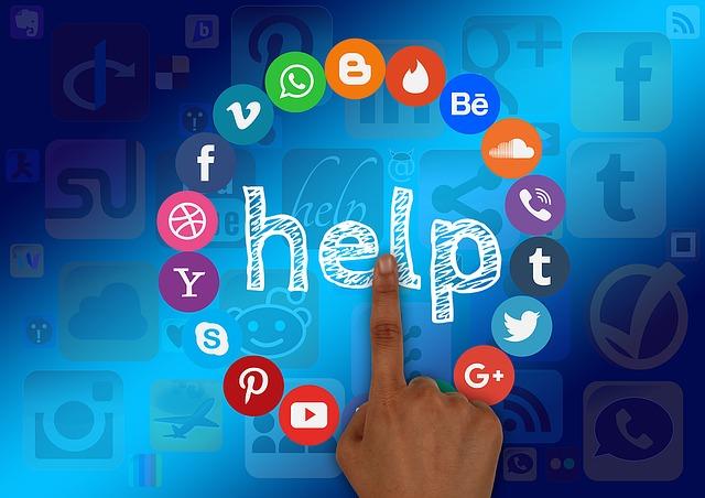 pomoc na internetu